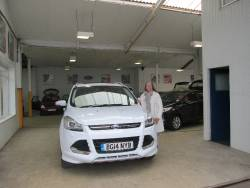 This is our second car from Mark at Hodson Ford at Penkridge. We are more than satisfied with all aspects of both deals. I love my new Ford Kuga. & Hodson Ford - New and used Ford Cars in Penkridge Stafford markmcfarlin.com