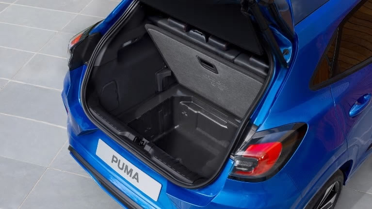 All New Ford Kuga back seats with woman adjusting them