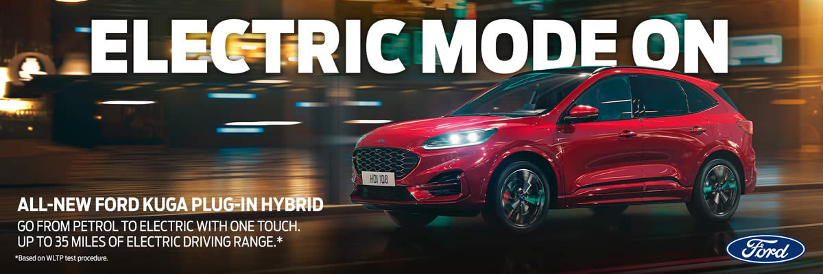 All-New Kuga Plug-In Hybrid