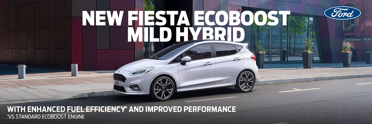 New Ford Fiesta MHEV