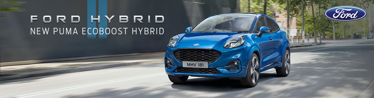 New Ford Puma Hybrid Vehicle