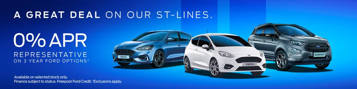 Ford ST-Line 0% Finance