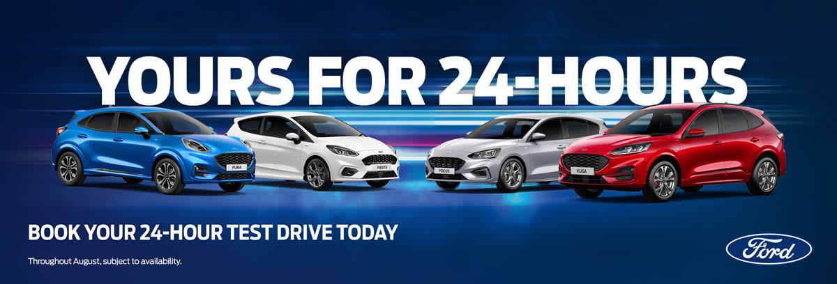 24 Hour Test Drive Promotion