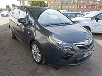 Used Vauxhall Zafira Tourer 1.4T SRI 5 Door MPV 7 Seater For Sale