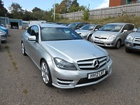Click to see larger photo of Mercedes Benz C250 2.1 CDI BlueEFFICIENCY AMG Sport Auto Coupe
