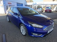 Used Ford Focus 1.6 Tdci Titanium Turbo Diesel Navigator 5 Door Estate For Sale