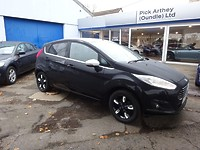 Used Ford Fiesta 1.25 Zetec Black Edition 5 Door For Sale