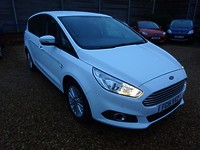 Used Ford S-Max 2.0 Tdci Turbo Diesel Zetec MPV 7 Seater  For Sale