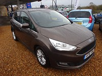 Used Ford C-Max 1.5 Tdci Turbo Diesel Zetec 5 Door For Sale