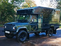 Click to see larger photo of Land Rover Defender 130 VIP Gun Bus  or Camper base vehicle