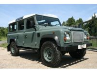 Click to see larger photo of Land Rover Defender 110 Station Wagon LHD.... USA Compliant