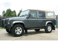 Click to see larger photo of Land Rover Defender 110 SW  LHD - SOFT TOP... USA Compliant