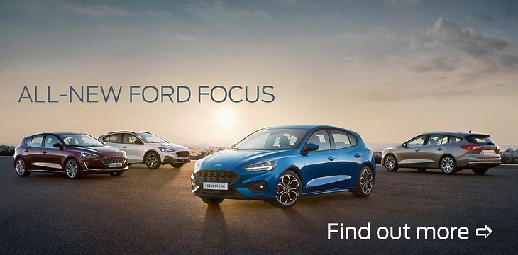 The all new Ford Focus