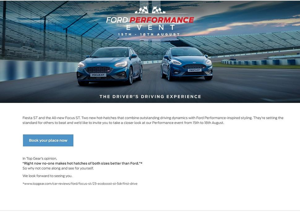 0% APR on Selected Ford Vehicles