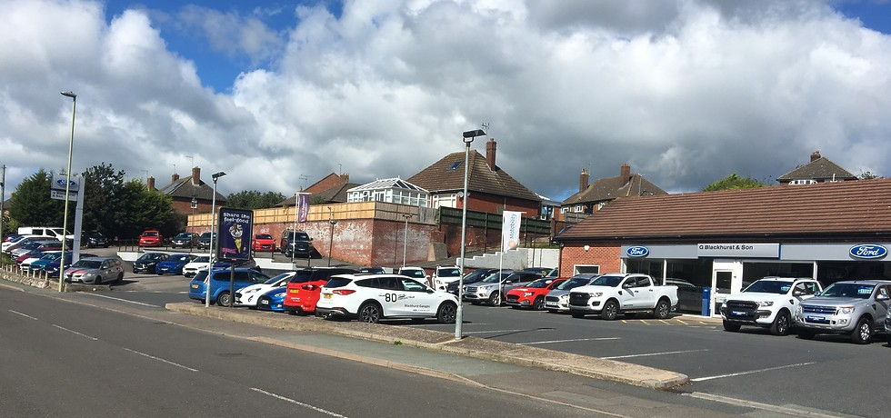 Blackhurst Garages - Ford Dealer - New and Used Cars in Whitchurch, Shropshire